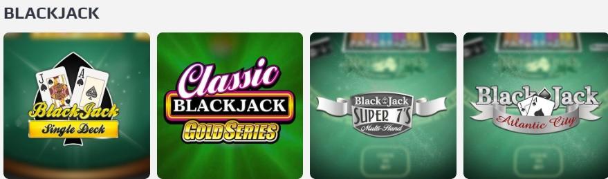 cazinouri online blackjack