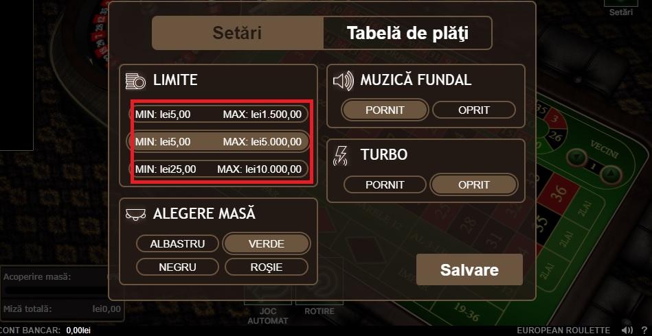 cazino ruleta online