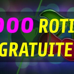 5000 ROTIRI GRATUITE doar astazi pentru toti jucatorii