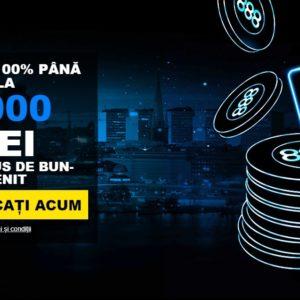 3000 RON bonus la poker pentru jucatorii noi