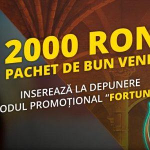 Cel mai mare bonus la cazino online din Romania