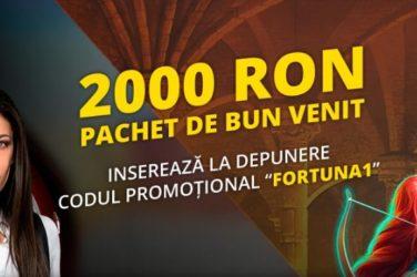 bonus depunere fortuna