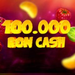 Turneul fructelor norocoase aduce 100 000 RON CASH si 1 000 rotiri