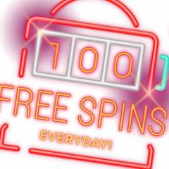 Colecteaza puncte si castiga zilnic 100 rotiri gratuite