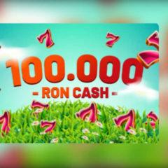Premii totale de 100 000 RON si 1 000 rotiri gratuite in aceasta saptamana