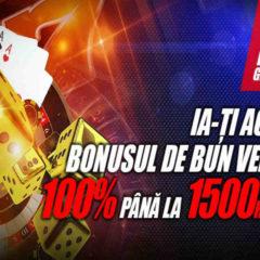 Obtine 1 500 RON si 20 rotiri gratuite daca te inregistrezi la acest cazino online