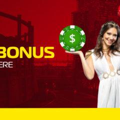 Bonus 200 RON la cazino cu rulaj o singura data