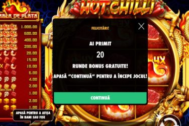 20 rotiri gratuite hot chilli