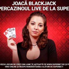 In acest weekend poti castiga pana la 200 RON bonus in fiecare zi jucand blackjack live incepand cu ora 18:00