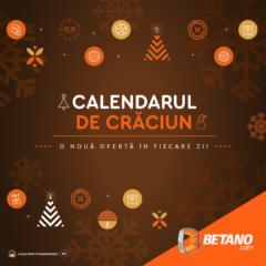 Calendarul de Craciun iti ofera ASTAZI o rambursare la jocurile slot