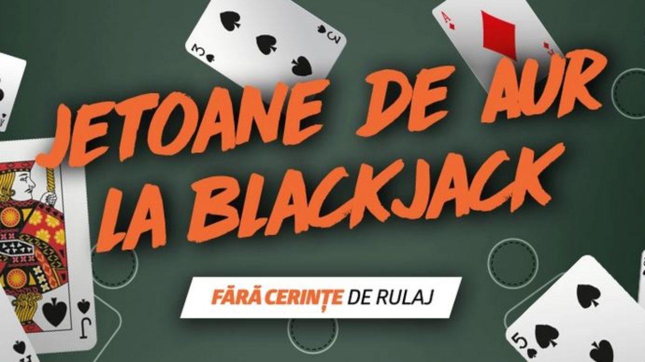 Castiga azi un Jeton de Aur la Blackjack Live