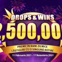 Participa pana in noiembrie la turnee saptamanale la care poti castiga zilnic un premiu CASH