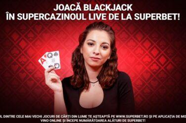 Castiga 50 RON bonus daca obtii un blackjack