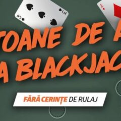 Joaca astazi la Blackjack pentru a primi Jetoane de Aur