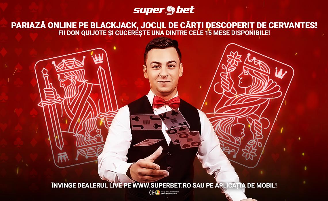 Castiga 100 lei bonus pariind in weekend la Blackjack Live